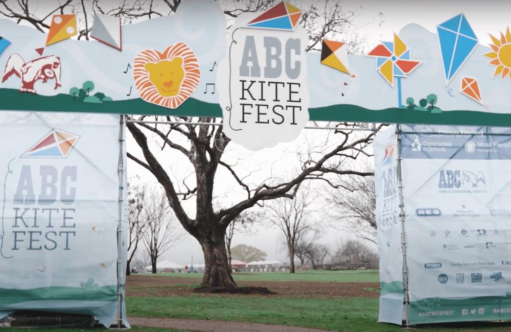 ABC team members attending the annual Austin Kite Fest
