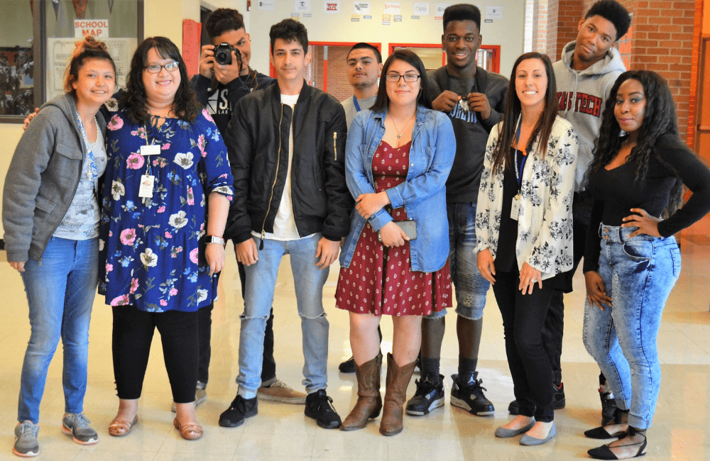 students who are involved in the Communities in Schools of Central Texas program
