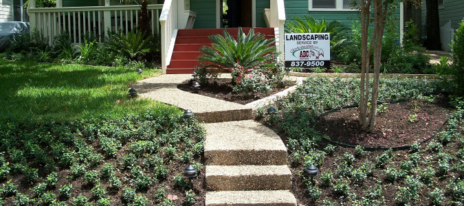 ABC has a full service landscape design and lawn services team