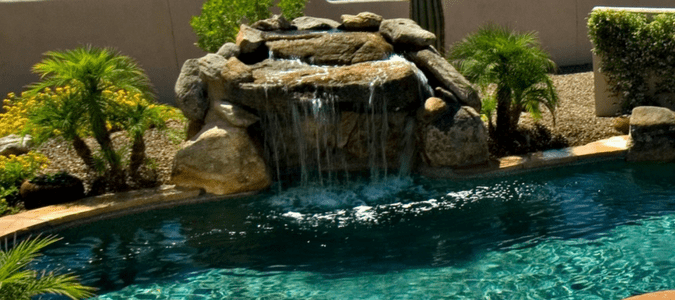 Can I add a waterfall to an existing pool