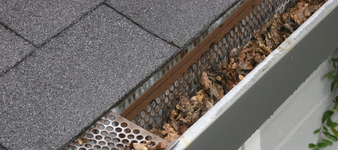 clogged gutters problems