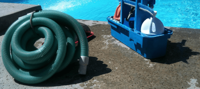 How to adjust pool skimmer suction