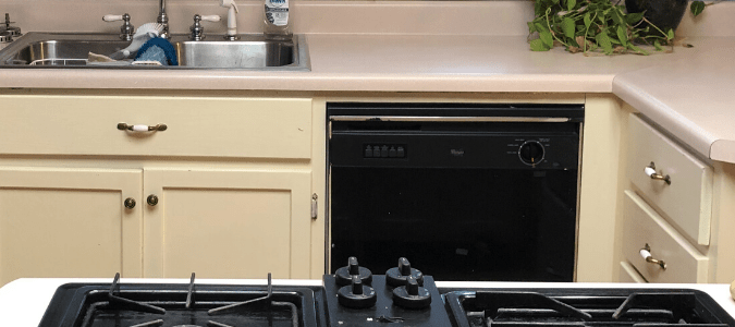 No power on dishwasher