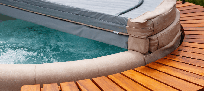 A hot tub that is not heating up correctly
