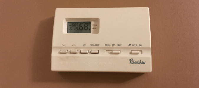 A malfunctioning thermostat