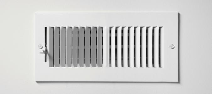 a white air vent