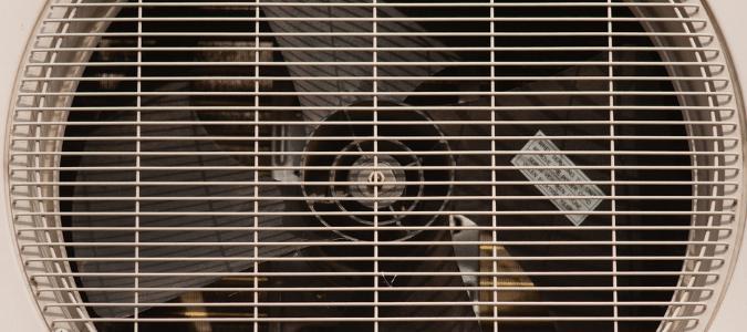 an AC condenser fan that isn't working