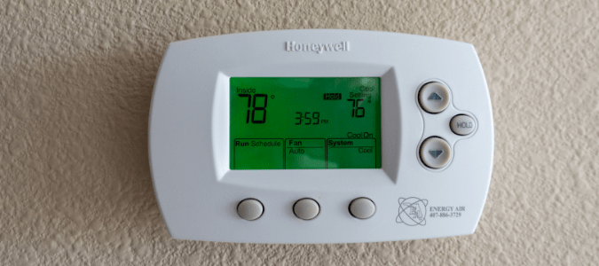 a thermostat not reaching the set temperature