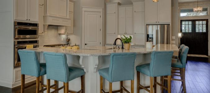 a tidy kitchen