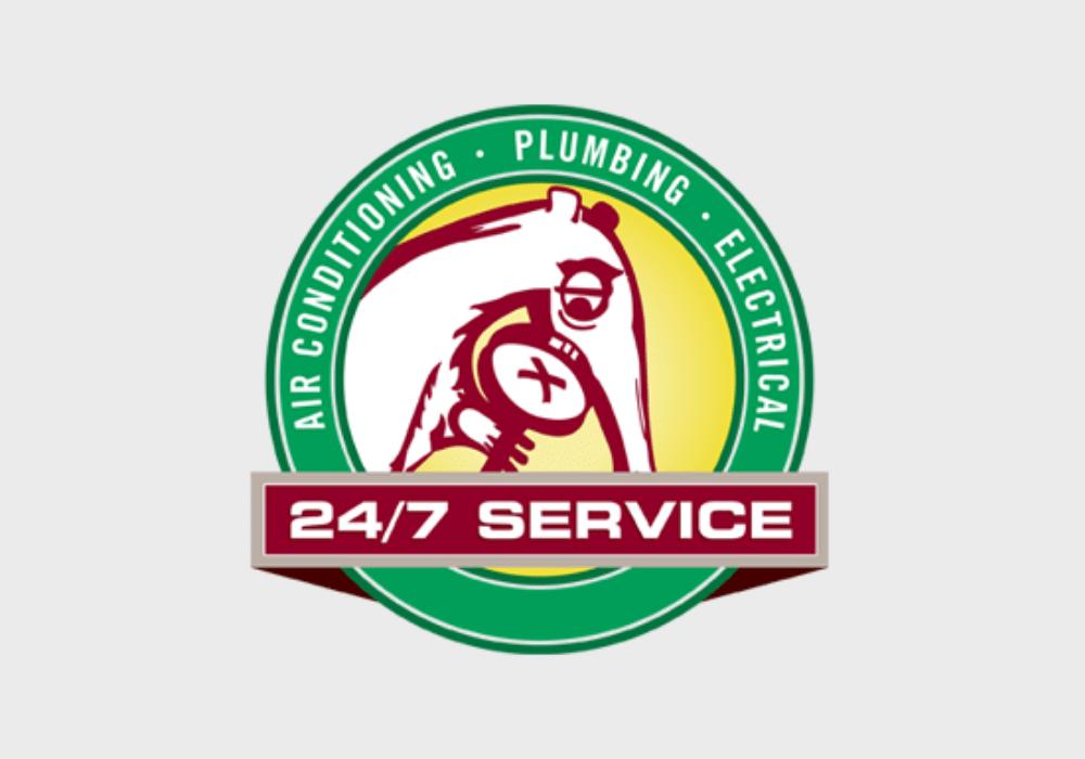 an image indicating 24/7 AC repair service