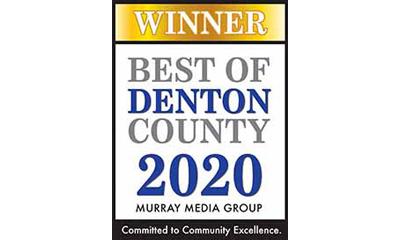 emblem for best of Denton County Living Magazine