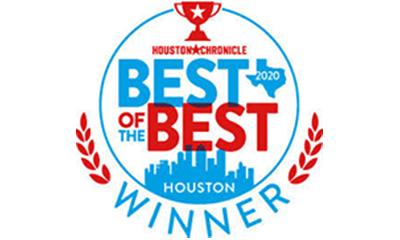 logo for best of Houston Chronicle award