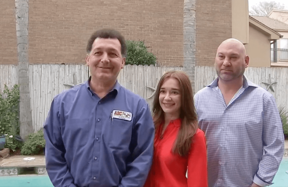 a pest control technician with the family who he has been helping for years