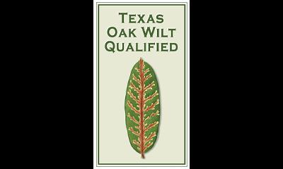 logo to indicate texas oak wilt qualification